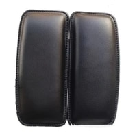 1pc universal leather knee pad for car interior pillow comfortable elastic cushion memory foam leg pad thigh support