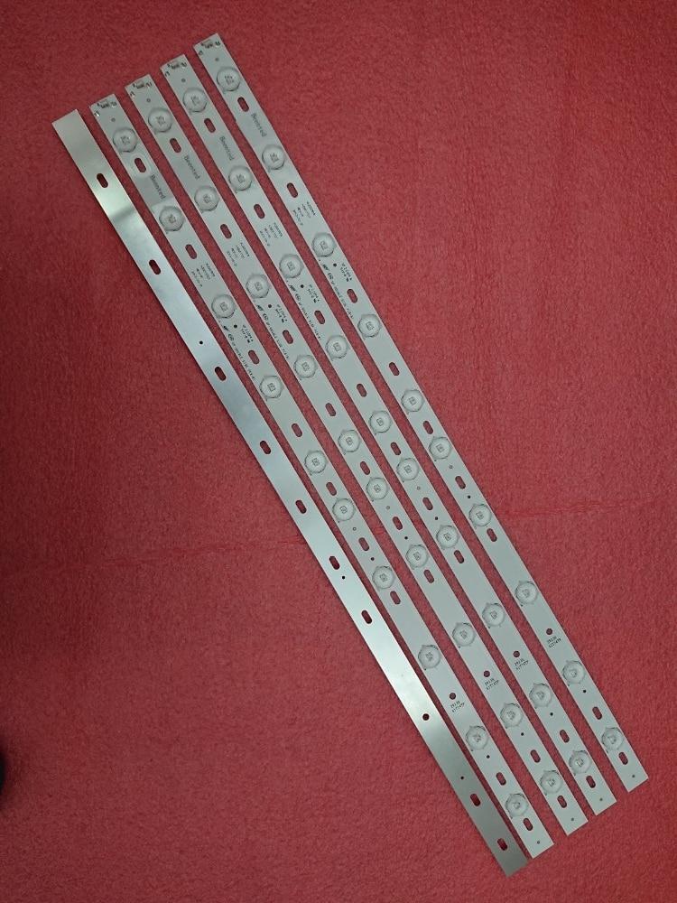 Novo 10 pces/ot 10leds (6v) 644mm led backlight strip para konka kl32gt618 35017727