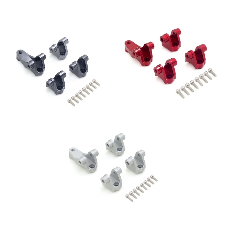 Trx4 metal eixo montar suspensão links base de suporte para 1/10 rc carro 8227