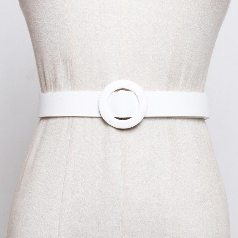 2020 nuevo diseño gran oferta cinturón corsé Tide alta moda cinturones para mujeres todo-fósforo sólido buen cinturón elegante mujer ZL040