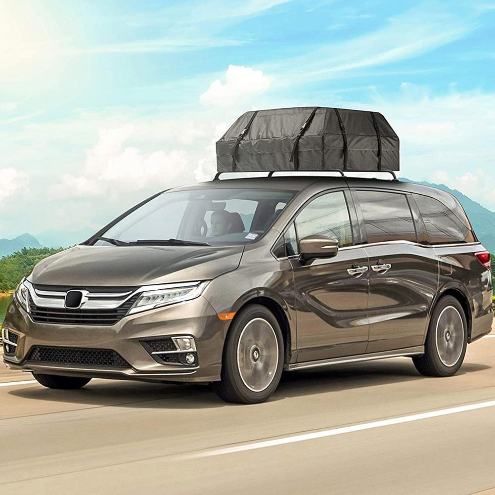 112x84x44 سنتيمتر مقاوم للماء سيارة البضائع سقف حقيبة حامل الحقائب على السطح السفر SUV فان للسيارات الشمس حماية المطر واقية مساحة كبيرة