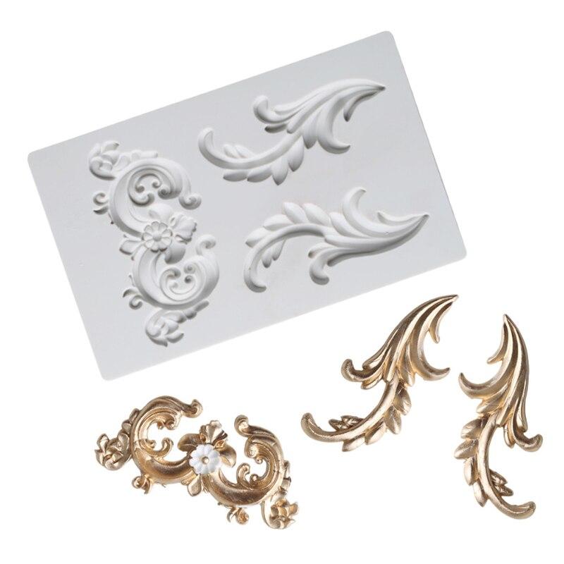Симметричная форма тотема силиконовая форма помадка для украшения торта инструмент Gumpaste сахарный шоколадный формы инструменты для выпечки