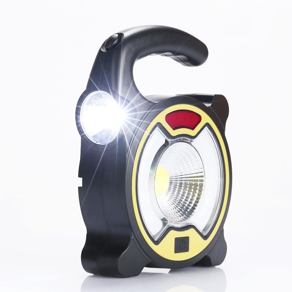 Linterna portátil COB LED superbrillante para Camping, tienda de luces, lámpara de emergencia, energía Solar, viajes al aire libre senderismo