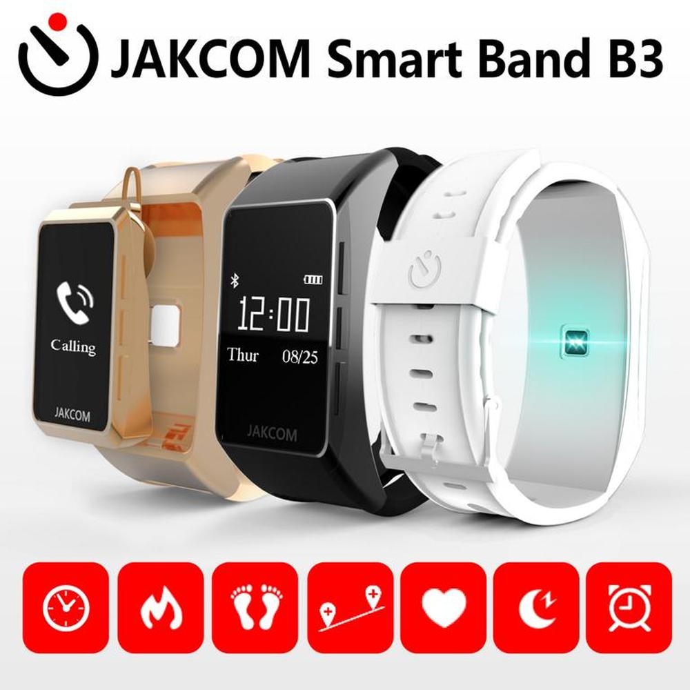JAKCOM B3 montre intelligente plus récente que montre intelligente smartwatch reloj mujer mlx90640 bande 4 tensiomètre hommes 5 f10