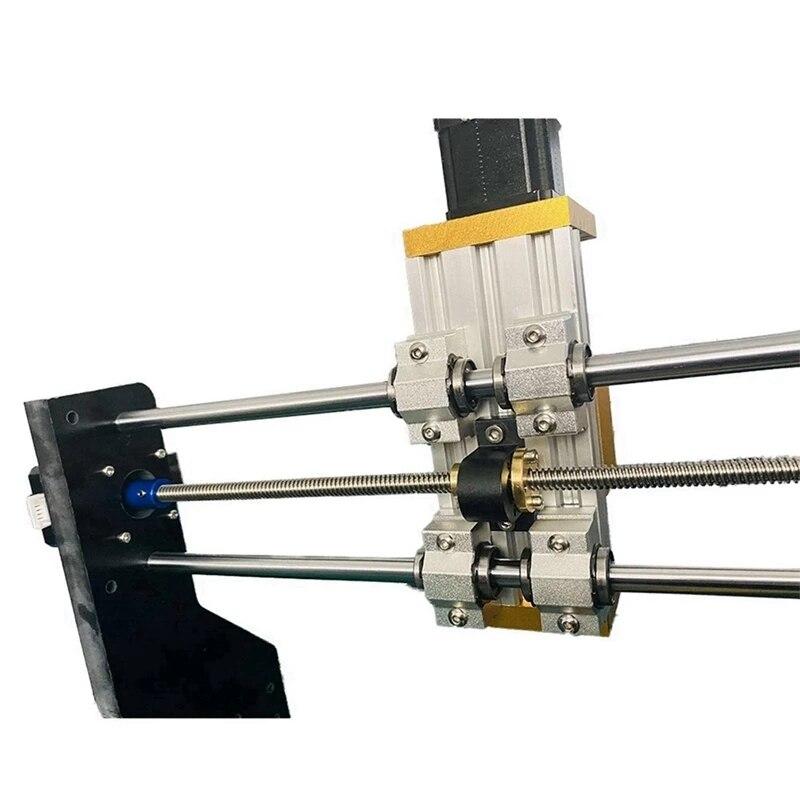 1 Set CNC 3018 Pro X-Axis Upgrade Kit & 1 Set Nema17/23 42BYG/57 Stepper Apply 45mm Spindle T8 Copper Anti-Backlash Nut enlarge