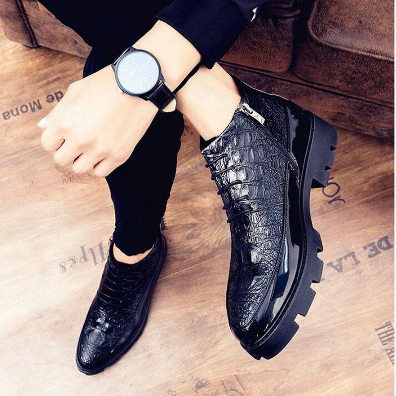 ذكر براءات الاختراع والجلود الأخفاف أحذية عالية أعلى الايطالية اللباس الرسمي البروغ أكسفورد الزفاف حذاء رسمي أحذية 2021