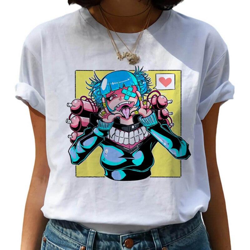 Harajuku gráfico T camisa las mujeres Anime Academia My Hero Senpai camiseta...
