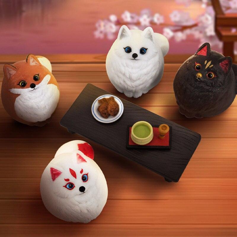 الأصلي الدهون دودو القط سلسلة صندوق أعمى دمية على شكل عروسة يمكن تحديد نمط لطيف الكرتون شخصية هدية شحن مجاني نا نا مفاجأة