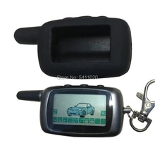 Russian A9 LCD Remote Control Keychain + Silicone Case for KGB FX 5 Two Way Car Alarm Anti-Theft KGB