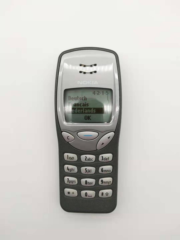 Nokia 3210 Refurbished-Original NOKIA 3210 Mobile Cell Phone Unlocked GSM Refurbished 3210 Cellphone Cheap Phone