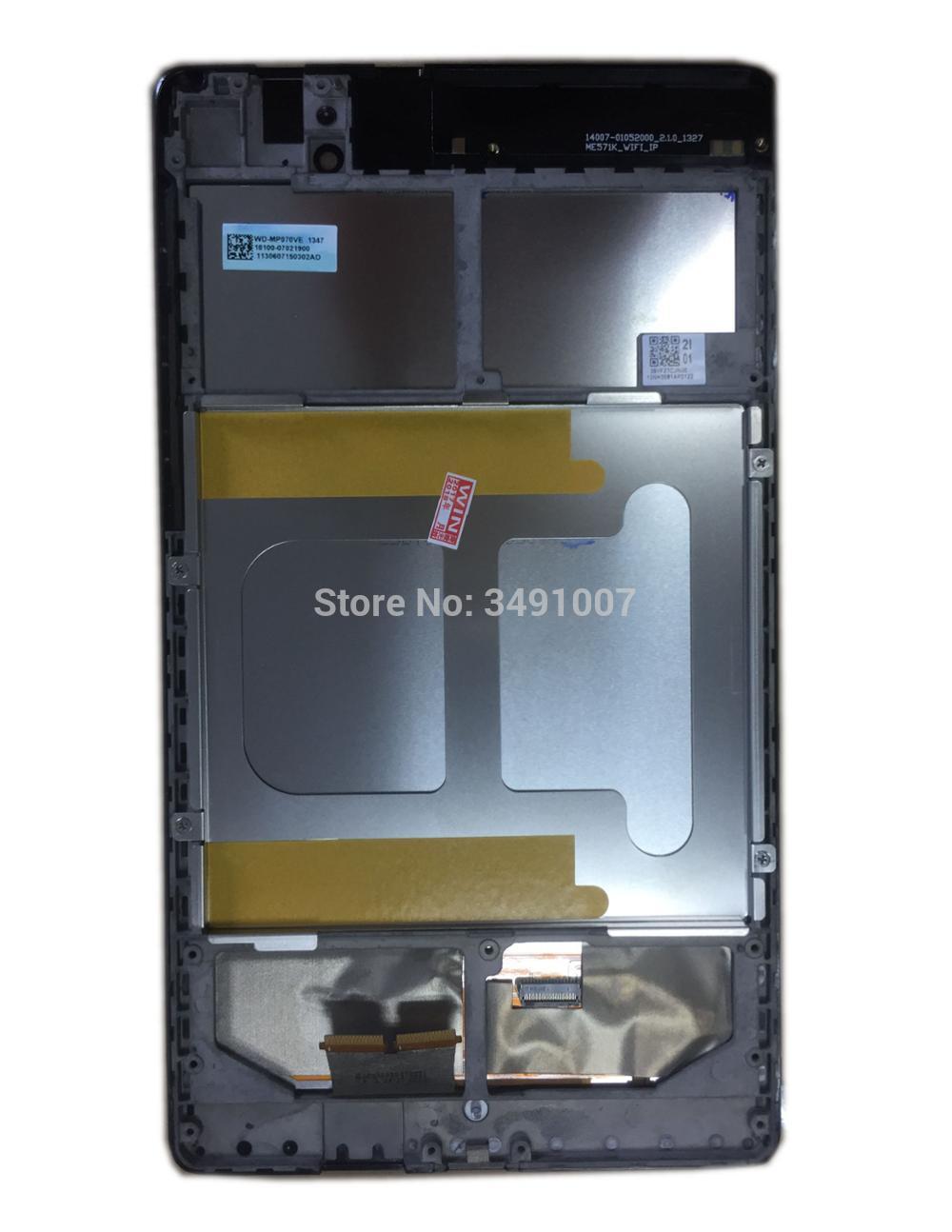 LCD LED MONTAJE DE digitalizador con pantalla táctil marco para ASUS Google...