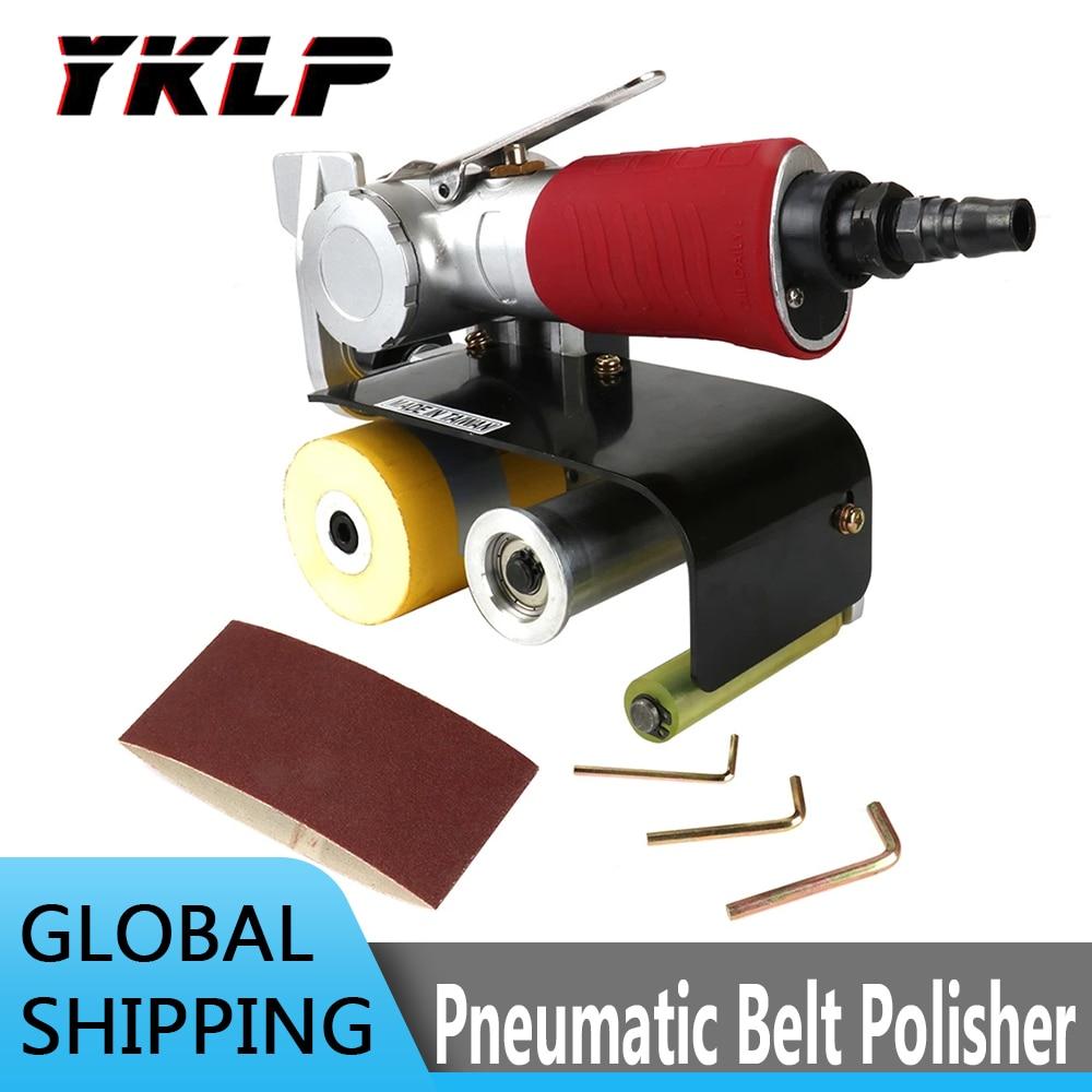 آلة صنفرة الحزام الهوائي ، مجموعة أدوات تلميع 60*280 مللي متر