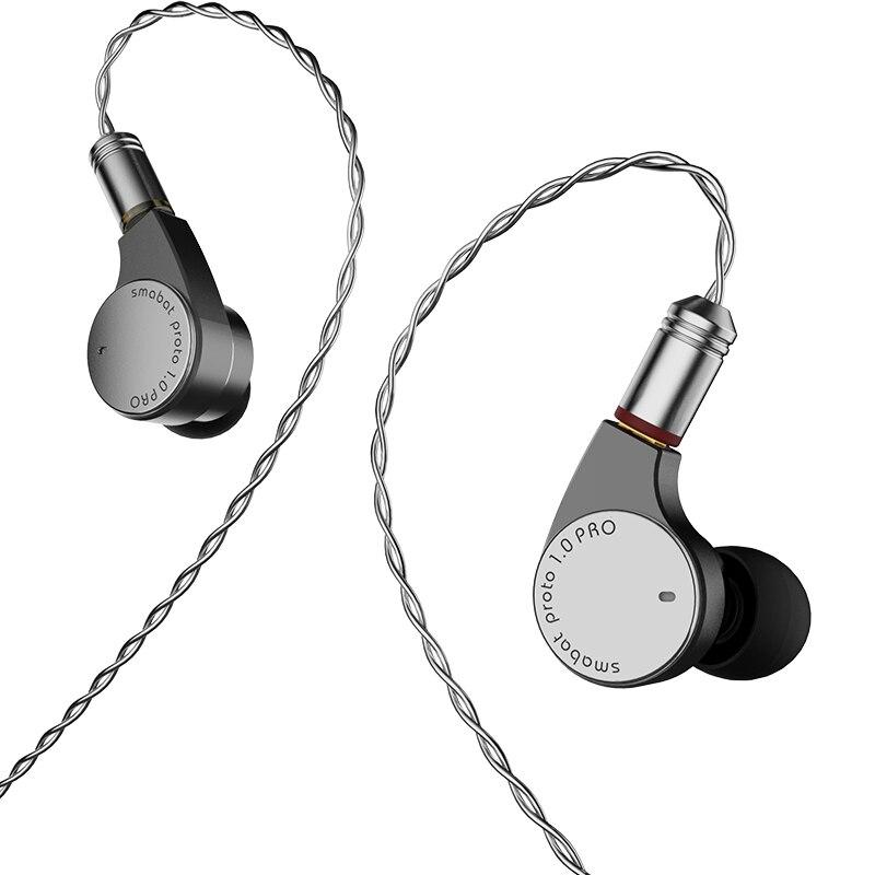 Smabat proto المستهلك hifi دليل ضبط سماعات أذن داخل الأذن معدني رمادي نوعية جيدة الصوت عالية ومنخفضة التبديل