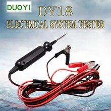 Probador de componentes de sistema eléctrico, probador de mantenimiento de línea de vehículo multifunción, pluma eléctrica de prueba de mantenimiento