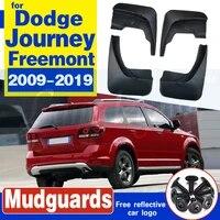 set molded car mud flaps for dodge journey 2009 2019 fiat freemont mudflaps splash guards mud flap mudguards 2011 2012 2013 2014