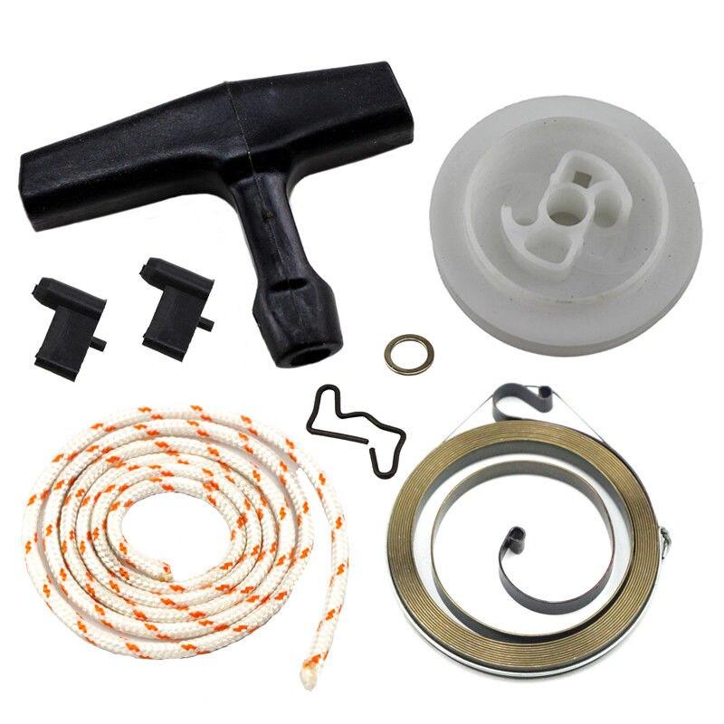 Motosserra parte recoil starter rope kit para stihl 034 036 044 046 ms440 motosserra