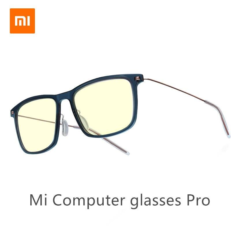 Xiaomi Mijia Anti-Blue Mi computer Glasses Pro Anti Blue Ray UV Fatigue Proof Eye Protector Mi Home