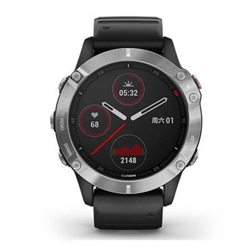 GPS smart watch men Garmin Fenix 6,Heat and Altitude Adjusted V02 Max, Pulse Ox Sensors and Training Load Focus smartwatch