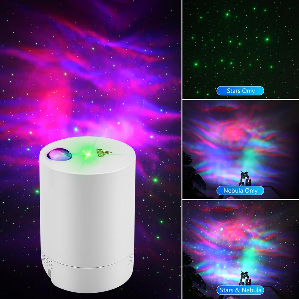 Night Light Starry Sky Projector Water Wave Lamp LED star music Rotating Remote Control Bluetooth Bedroom Bedside Lamp enlarge