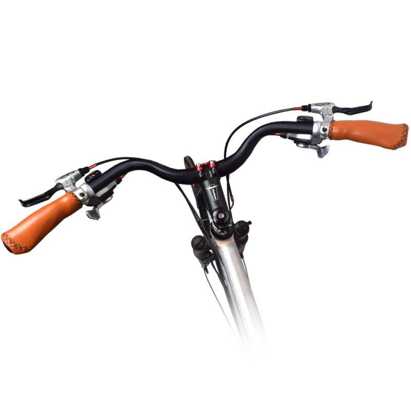 Manillar de aleación de aluminio con forma de M para bicicleta de montaña, alta calidad, duradero, manillar elevador 31,8 x 640mm