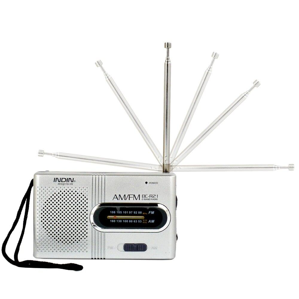 BC-R21 Universal Radio Player Built In speaker AM/FM AM 530-1600 FM 88-108 KHz Pocket Portable Mini World Stereo Receiver enlarge