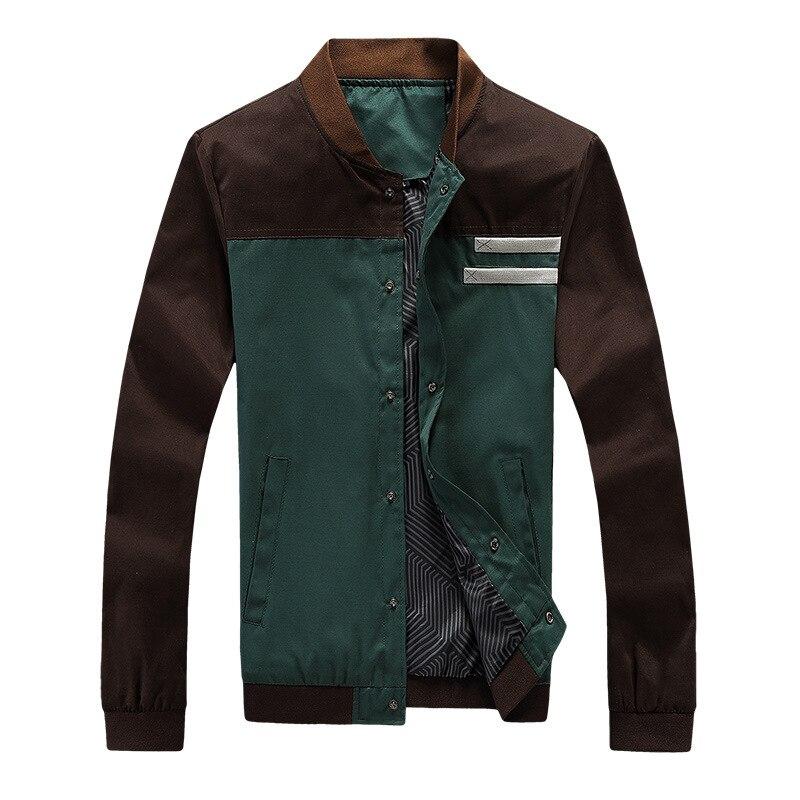 Новинка 2021, мужские куртки Varsity, осенние мужские пальто в стиле милитари, Модные приталенные повседневные куртки, мужская верхняя одежда, бе...