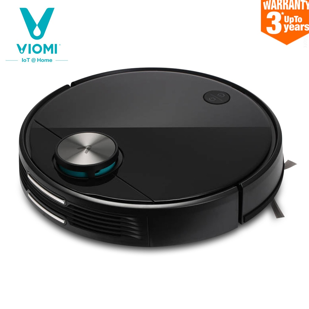 VIOMI V3 Robot Vacuum Cleaner Mopping 2600Pa Suction LDS Laser Navigation Auto Recharge Cleaning Machine 4900mAh Aspirator New