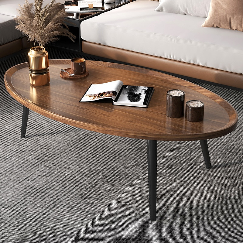 Coffee table home living room kitchen small apartment sofa side table modern simple economical and practical small tea table 22 size modern simple living room coffee table triangular and circle mini corner tea end table small coffee desk
