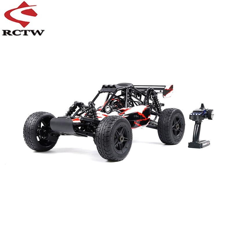 التحكم الذكية محرك قوي 1/6 الكهربائية على الطرق الوعرة سيارة 2.4G التحكم عن بعد النسخة القياسية ل ROFUN روفان EQ6 E-BAJA لعب سيارة