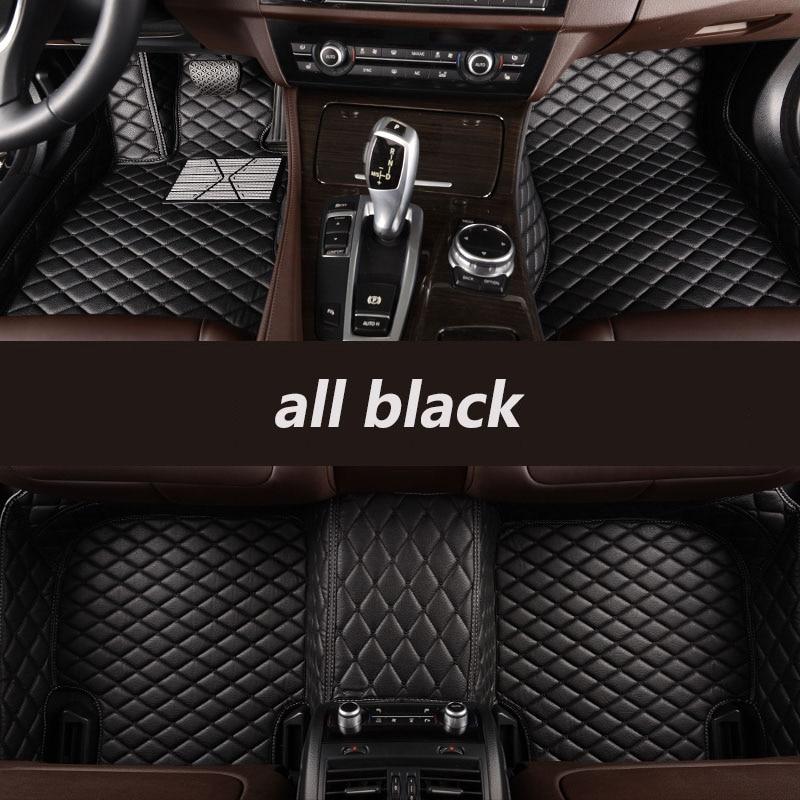 HLFNTF coche personalizado alfombras de piso para LEXUS modelo ¿ES IS-C RX NX GS CTh GX LX RC RC-F SC coche accesorios para el coche accesorios stying estera del coche