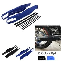 motorcycle swingarm swing arm protector guards covers for husqvarna tc tx te fc fe fx 125 150 200 250 300 350 450 501 2014 2021