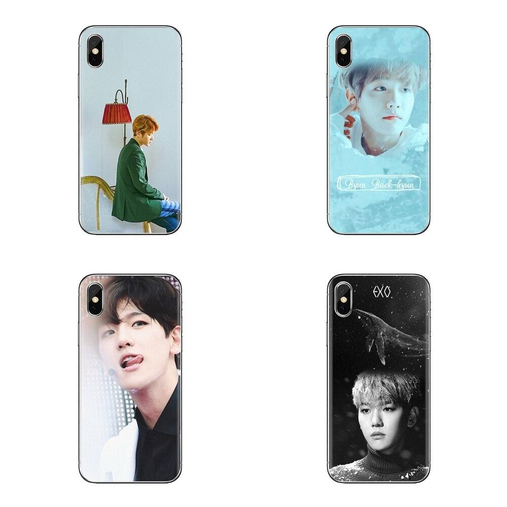 Baekhyun Byun Baek Hyun Exo Kpop de silicona cubierta de la piel para Huawei Honor 5A Y6 II compacto Y5 II 2 Mate 10 30 Lite Nova 2i 9i 5i Pro