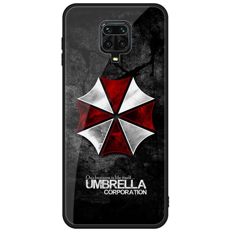 Umbrella Corporation Biohazard Telefon Fall Für Xiaomi Redmi Red Mi Hinweis 9S 9 8 7 Pro Max 10T 9A 9C 8T 9T 8A 7A K30 K20 Zurück Abdeckung