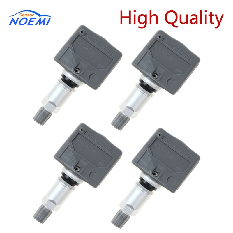 YAOPEI 4 Uds 40700-CK002 40700CK002 TPMS Sensor de presión de neumáticos para Nissan Pathfinder Titan frontera para Infiniti QX56 FX35 M35 G35