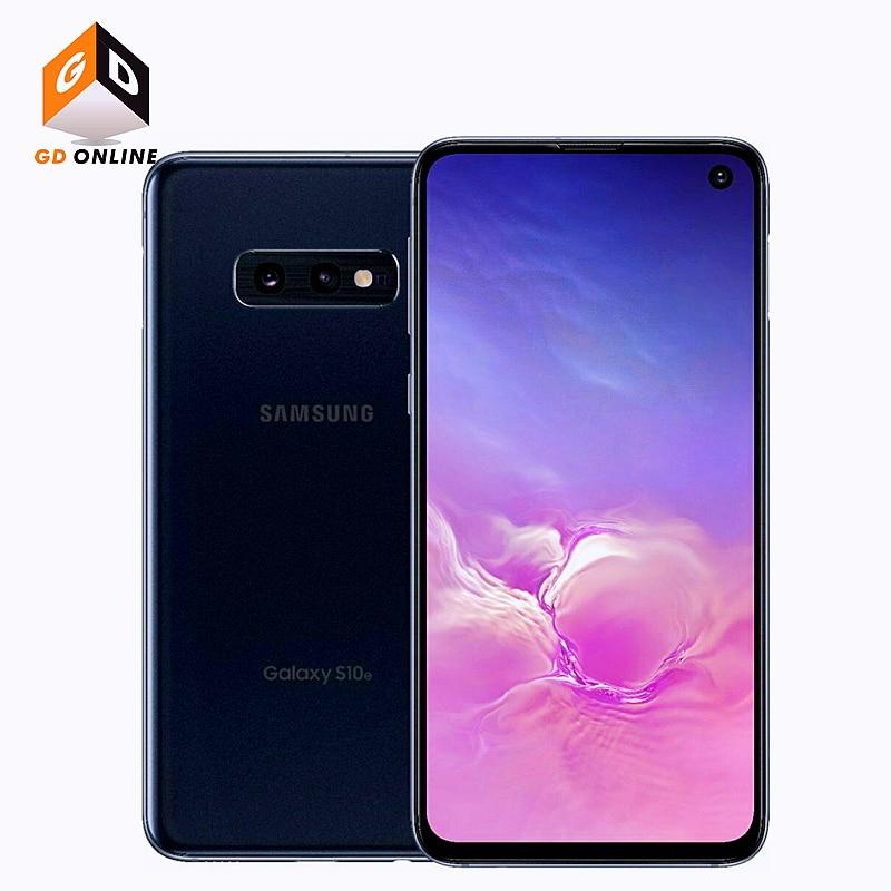 Фото5 - Оригинальные разблокированные Мобильные телефоны Samsung Galaxy S10e G970U G970U1, Snapdragon 855, 6 ГБ ОЗУ, 128 Гб ПЗУ, Восьмиядерный процессор, 5,8 дюймов, NFC