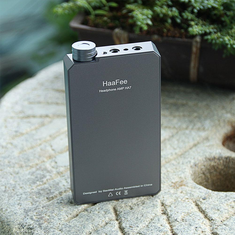 HaaFee HA9 Portable Headphone Amplifier Strong Thrust Audio Amp for Car,mp3 Players,Mobile Phones,PC enlarge