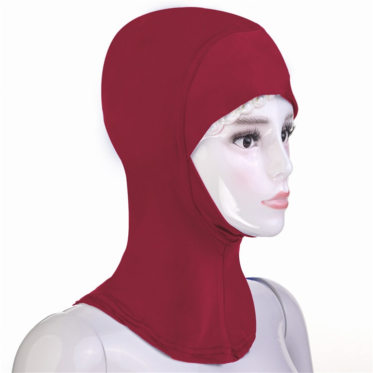 MXCHAN Muslim solid color hijab c a ps African hat for women ,