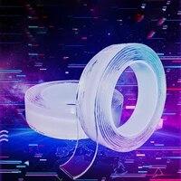 Nano ruban adhesif magique Transparent  1M  2M  3M  lavable  reutilisable  Double face  sans trace  accessoires de salle de bain