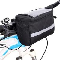 bike front frame bag universal bicycle motorcycle handlebar bag bike bag bicycle accessories storage pouch bag