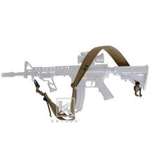 "KRYDEX PC Stil Rifle Sling Strap Tactical Modulare Abnehmbare 2 Punkt/1 Punkt 2.25 ""Padded Für Kampf Schießen jagd Gewehr CB"