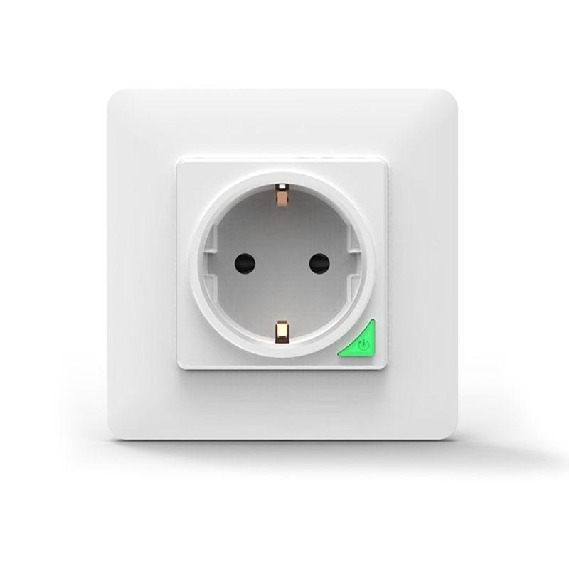 مقبس الحائط الذكي واي فاي جهاز ذكي للتحكم عن بُعد الاتحاد الأوروبي 16A مقبس الحائط قابس طاقة