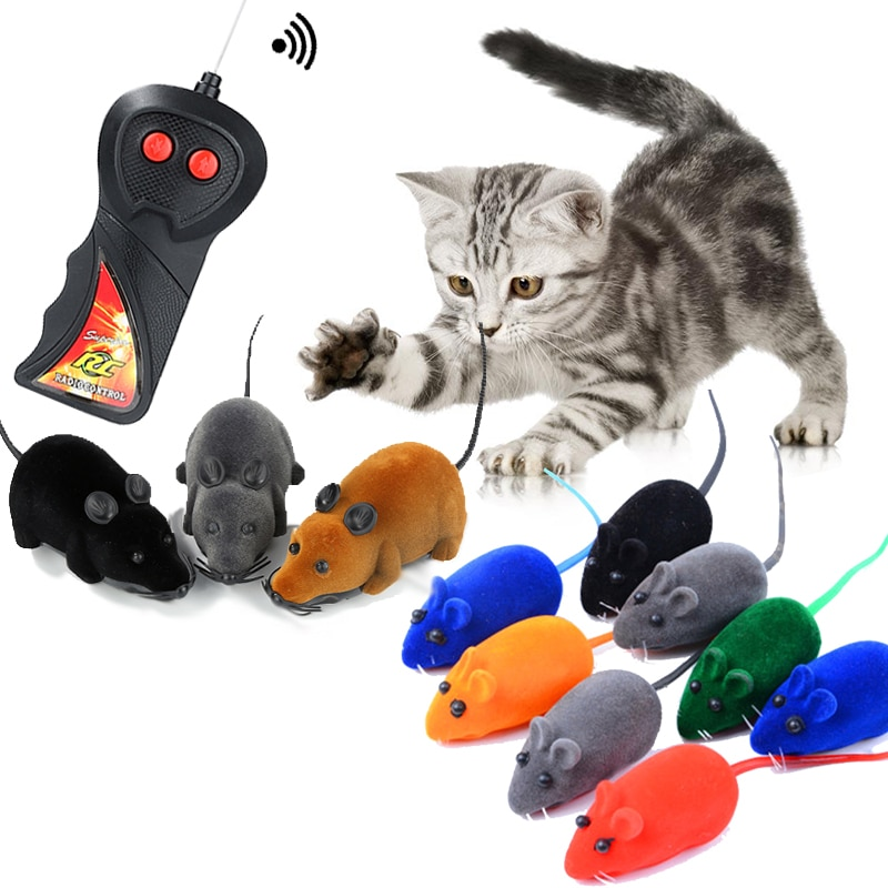Plush Simulation Mouse Cat Toy Plush Mouse Cat Scratch Bite Resistance Interactive Mouse Toy Palying Toy For Cat Kitten Dropship недорого