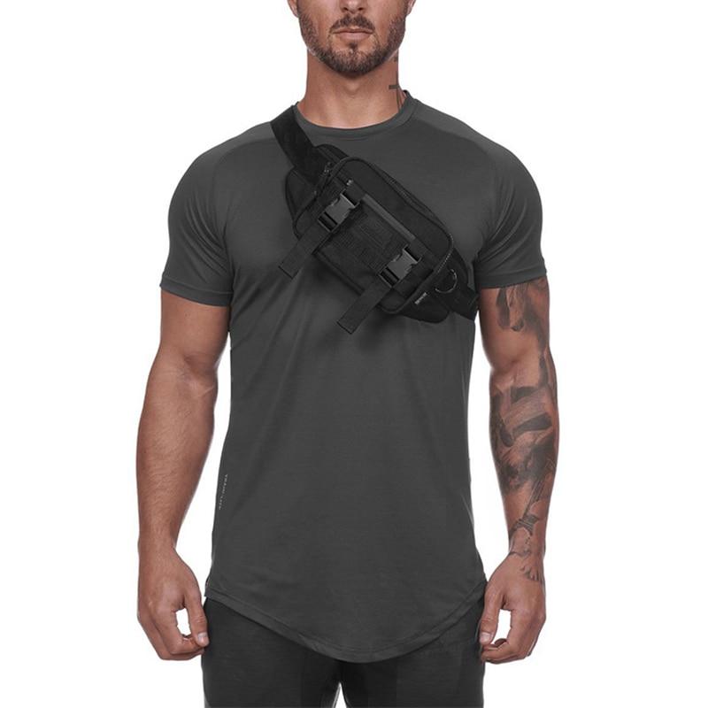ASRV Multi-Function Droppable Key Clothes Waist Bags Men Sport Pocket Casual Chest Pack Purse Belt Bag