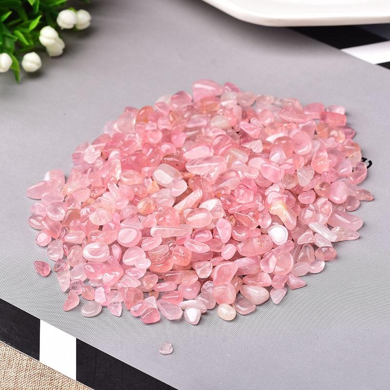 Natural Crystal Rose Quartz Ore Mineral Specimen Healing Stone Natural Colorful Quartz for Aquarium Stone Home Decoration DIY