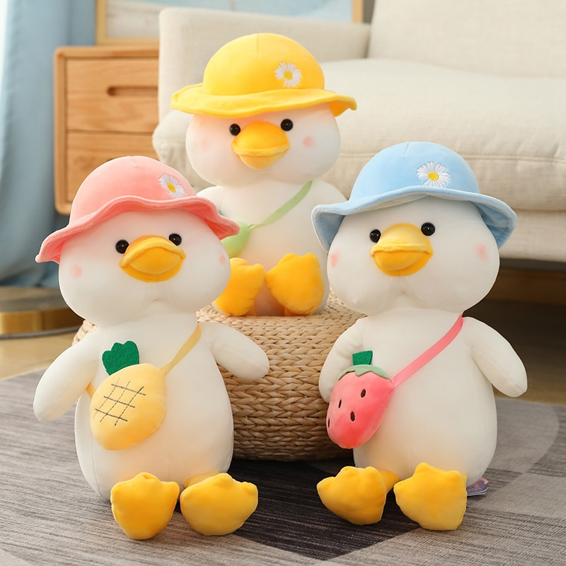 new arrive cat with fish pattern plush toy baby soft plush toys for children stuffed animal cat plush toy gift for kids birthday New Arrive Cute Duck with Hat Plush Toy Baby Soft Plush Toys For Children Stuffed Animal Duck Plush Toy Gifts for Kids Birthday