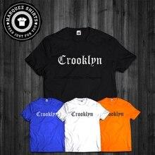 T Hemd Crooklyn Brooklyn New York NYC Hip Hop Gangsta Rap GROßE T