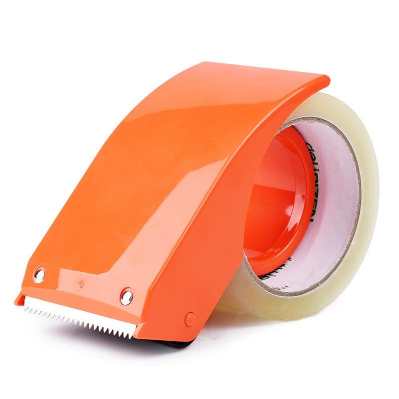 Диспенсер для скотча, ручная упаковочная лента, Диспенсер, резак, Упаковочный пресс для картона, упаковщик шириной 48 мм, упаковочная машина ...
