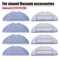 Аксессуары для xiaomi Roborock S7 T7S plus, салфетка для очистки, боковая щетка, HEPA фильтр, Швабра, тряпка, сменные детали для пылесоса xiomi