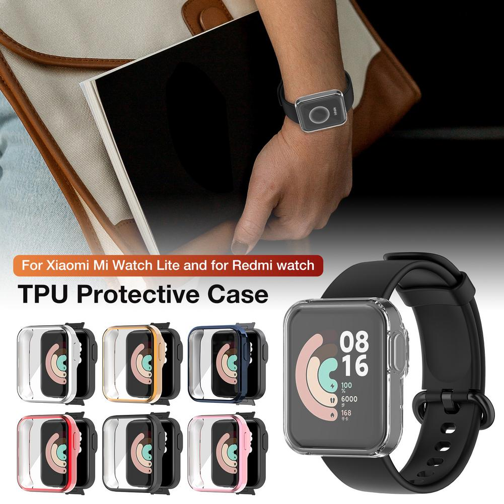 Watch Protective Case Watch Protector for Xiaomi Mi Watch all-inclusive protective case TPU Smart wearable accessories Dropship