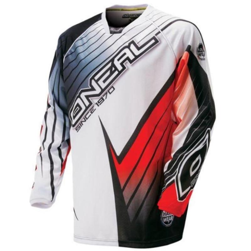 ONEAL-Maillot de manga larga para Ciclismo de Motocross para hombre, Maillot de Ciclismo de descenso DH, ropa para bicicleta de montaña todoterreno